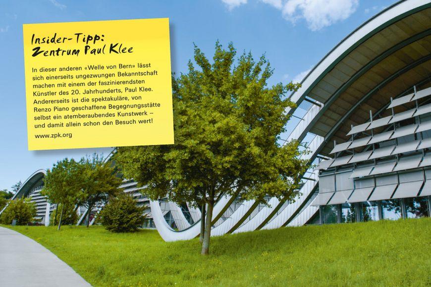 In dieser anderen «Welle von Bern» lässt sich einerseits ungezwungen Bekanntschaft machen mit einem der faszinierendsten Künstler des 20. Jahrhunderts, Paul Klee. Andererseits ist die spektakuläre, von Renzo Piano geschaffene Begegnungsstätte selbst ein atemberaubendes Kunstwerk – und damit allein schon den Besuch wert!