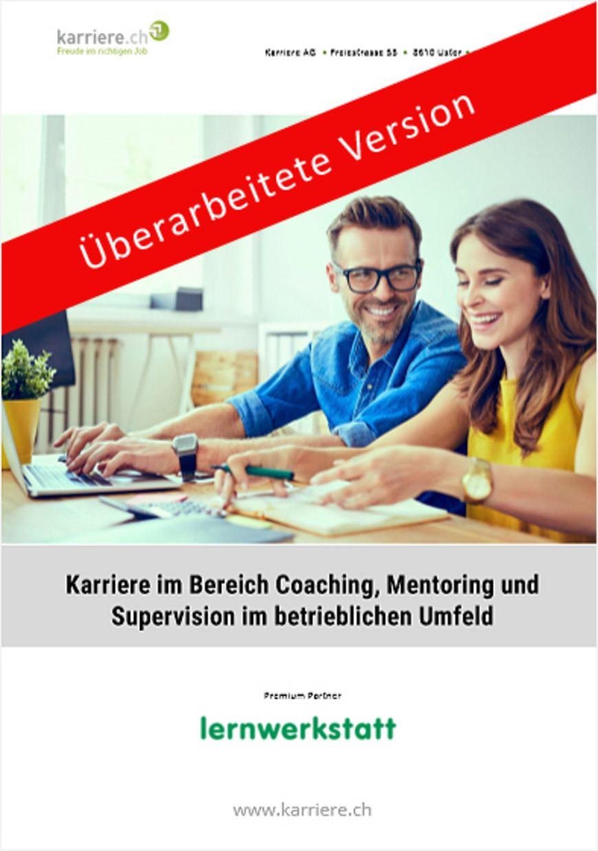 Ratgeber «Karriere im Bereich Coaching, Mentoring, Supervision»