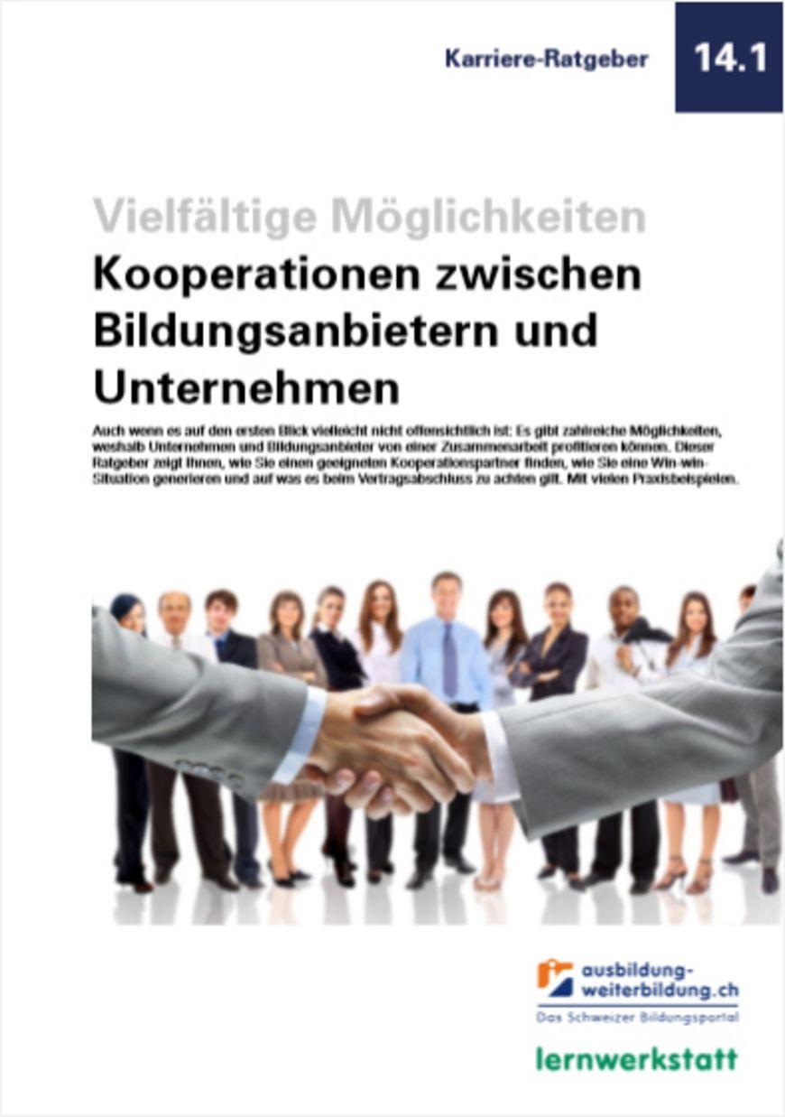 Ratgeber «Kooperationen zwischen Bildungsanbietern und Unternehmen»