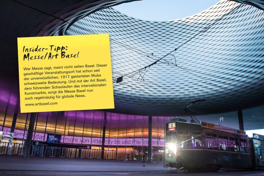 Wer Messe sagt, meint nicht selten Basel. Dieser geschäftige Veranstaltungsort hat schon seit der unverwüstlichen, 1917 gestarteten Muba schweizweite Bedeutung. Und mit der Art Basel, dem führenden Schaulaufen des internationalen Kunstmarkts, sorgt die Messe Basel nun auch regelmässig für globale News.