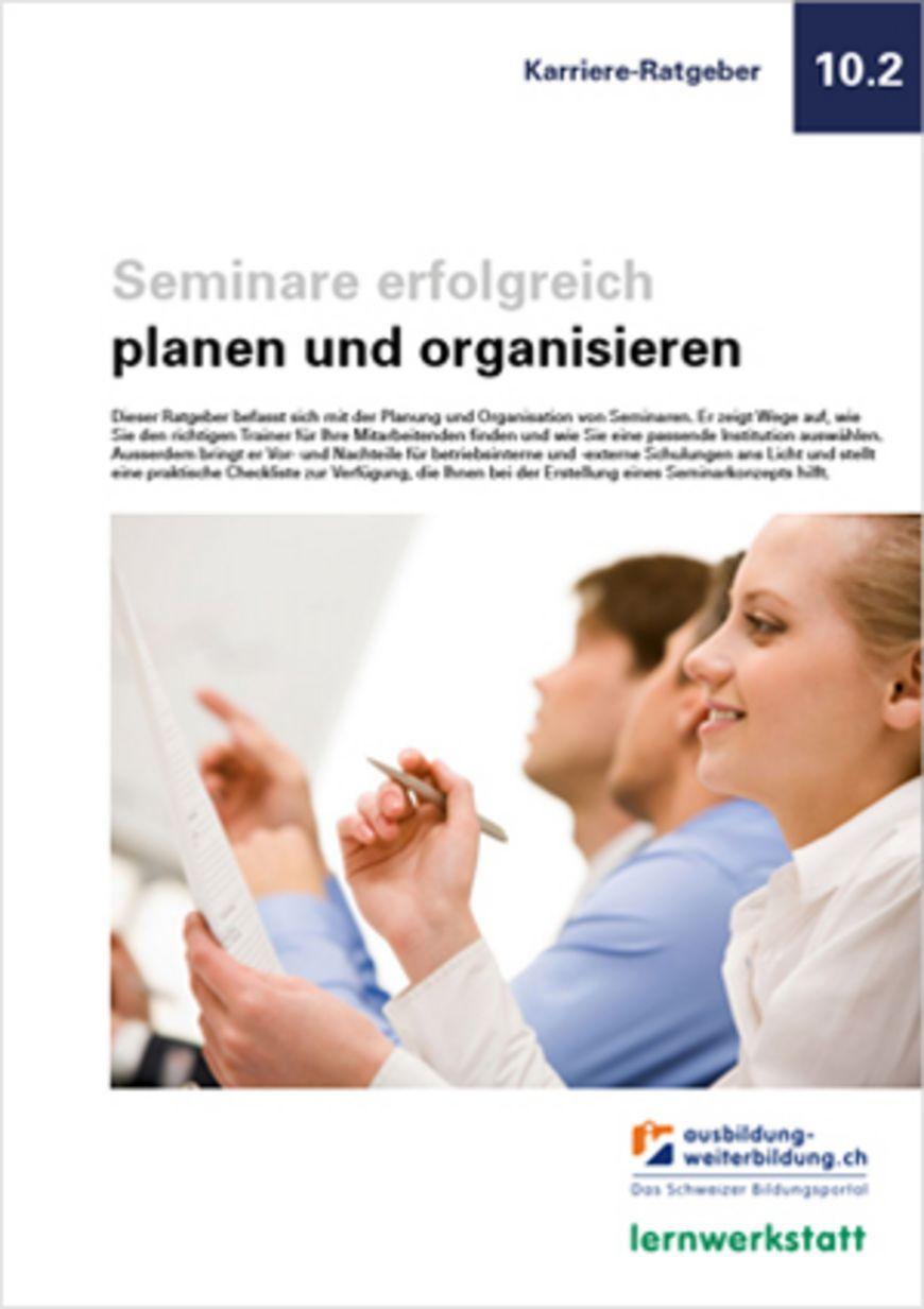 Ratgeber «Organisation von Seminaren»