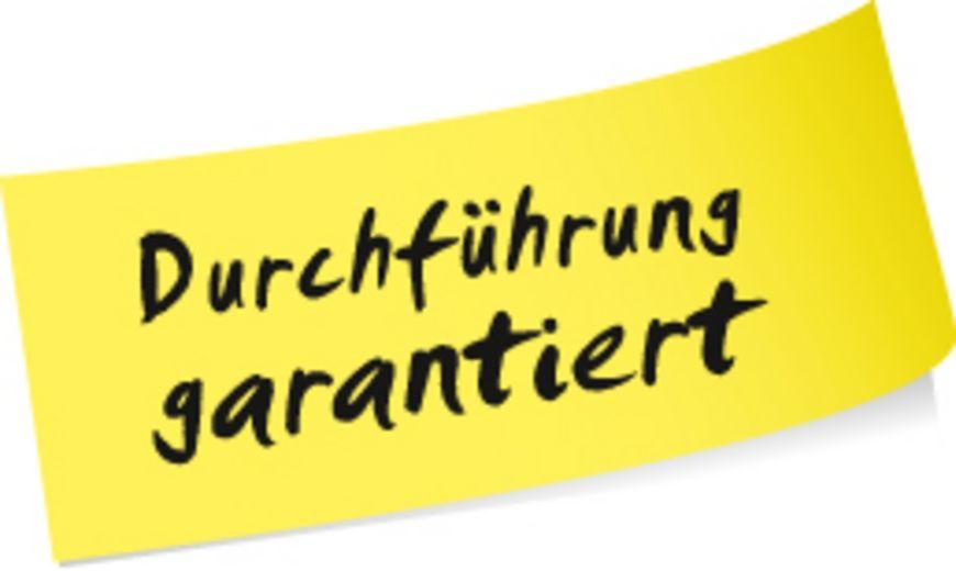 Durchführungsgarantie – Die Lernwerkstatt Olten garantiert die Durchführung aller ihrer Lehrgänge an den vorgesehenen Standorten und an den geplanten Terminen..