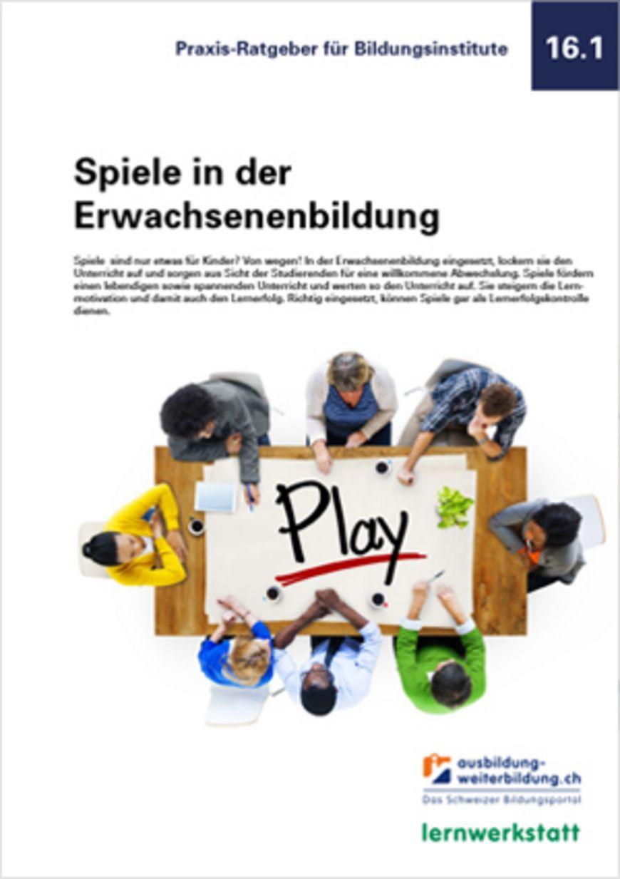 Kostenloser Ratgeber: Spiele in der Erwachsenenbildung
